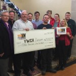 YWCA receiving $3,100 cheque
