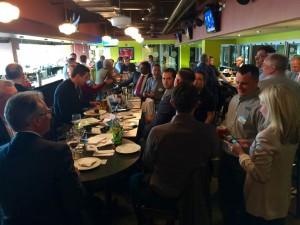 100 Men Networking at Prospects Bar GM Centre Oshawa