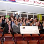 Group Cheque presentation Boys and Girls Club