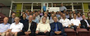 100 Men cheque presentation to The Refuge