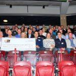 Cheque awarded to Durham Children's Aid Foundation